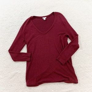 Nordstrom bp cozy soft vneck sweater